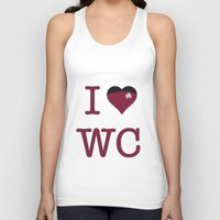 I Heart Wesley Crusher Unisex Tank Top