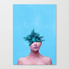 Head Grenade Canvas Print