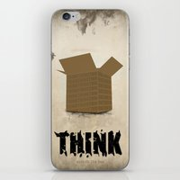 Think Outside The Box iPhone & iPod Skin