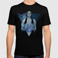 Brain Damage Mens Fitted Tee Black SMALL