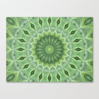 Green Beauty Canvas Print