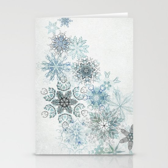 The Forest Drift Stationery Card