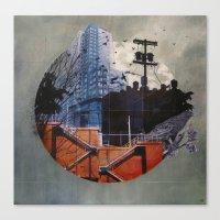 Fractal Disjunction Canvas Print