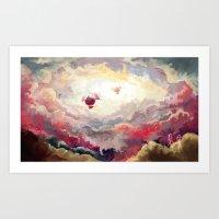 Zeppelins Art Print