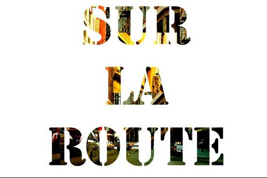 Sur La Route Art Print