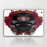 Love Comes With Silence Laptop & iPad Skin