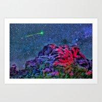 Over Camelback Mountain Art Print