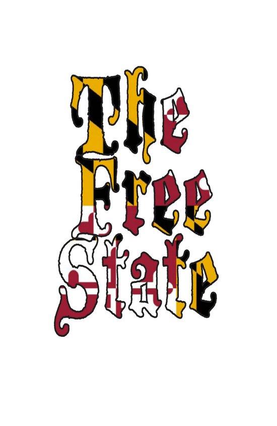 Free State white Art Print