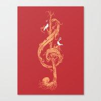 Natural Melody Canvas Print
