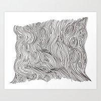 Brainmap Art Print