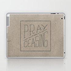 Pray Without Ceasing Laptop & iPad Skin