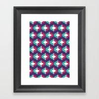 DiamNet Framed Art Print