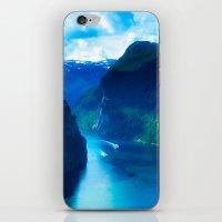 Geirangerfjord iPhone & iPod Skin