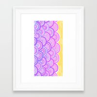 Seigai Framed Art Print