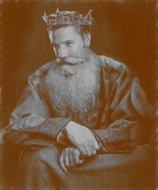 All hail the King! Art Print