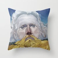 Sam Beam Throw Pillow