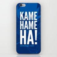 KAME HAME HA! (Dark) iPhone & iPod Skin