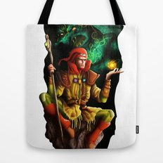 A wizard in the dark Tote Bag