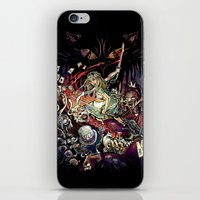Zombies in Wonderland iPhone & iPod Skin