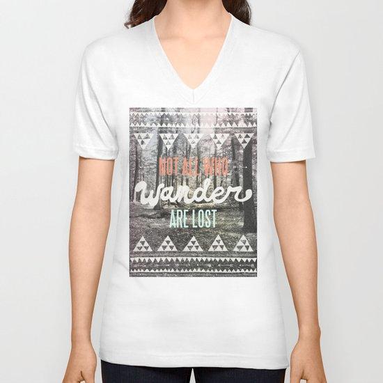 Wander V-neck T-shirt