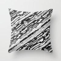 36° (monochrome series) Throw Pillow