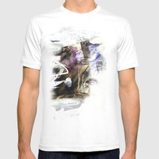 Secret  Mens Fitted Tee White SMALL