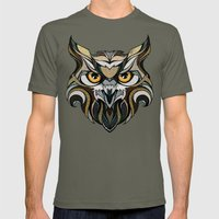 Owl Mens Fitted Tee Lieutenant SMALL