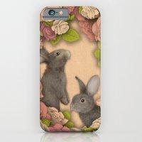 Rosie Rabbits iPhone 6 Slim Case