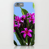 iPhone & iPod Case featuring Pink Plumeria by TS Photography