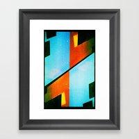 #5 (35mm Multiple Exposu… Framed Art Print