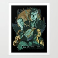 Dark City Poster Art Print