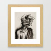 defense mechanism Framed Art Print