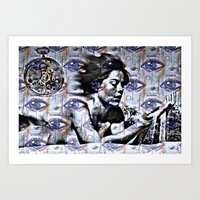 Blurred Time Art Print
