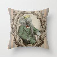Royal Portrait, 1931 Throw Pillow