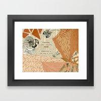 Atmospheric Framed Art Print