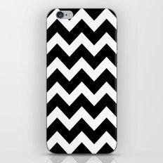Chevron Black & White iPhone & iPod Skin