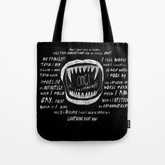 OMG! I AM A GAY VAMPIRE!! Tote Bag