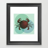 crabapple Framed Art Print
