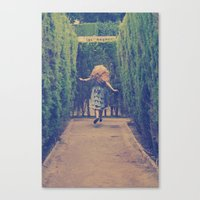 Alice world 1 Canvas Print