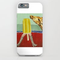 Ferdinand the Giraffe and the yellow popsicle iPhone 6 Slim Case