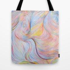 Wind I - Colored Pencil Tote Bag