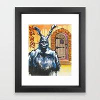 Frank And The Cellar Doo… Framed Art Print