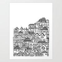 Sacrifical Homes A Art Print