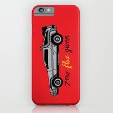 Zero Flux Given. iPhone 6s Slim Case