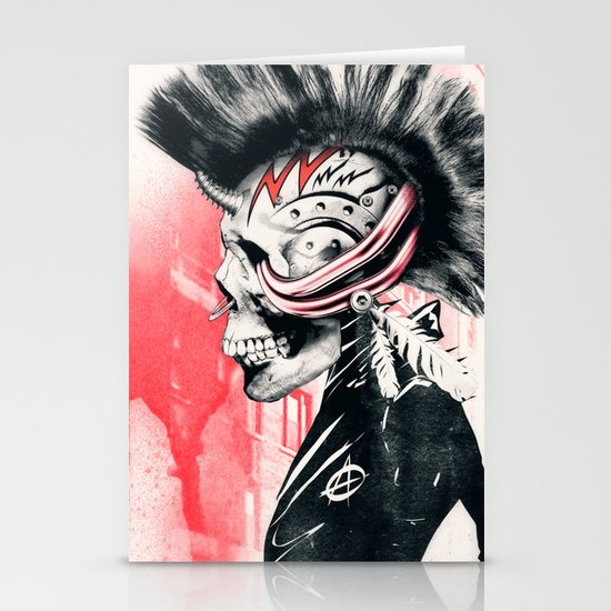 PUNK Stationery Card