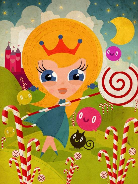 Caramel Princess Canvas Print