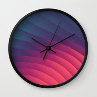Reservoir Lines Wall Clock