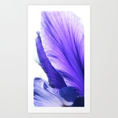 Blue tongue Art Print