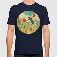 Flight Mens Fitted Tee Navy SMALL