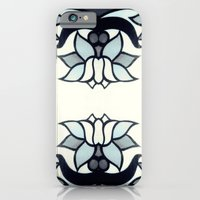 iPhone Cases featuring Retro Lotus  by Factory23
